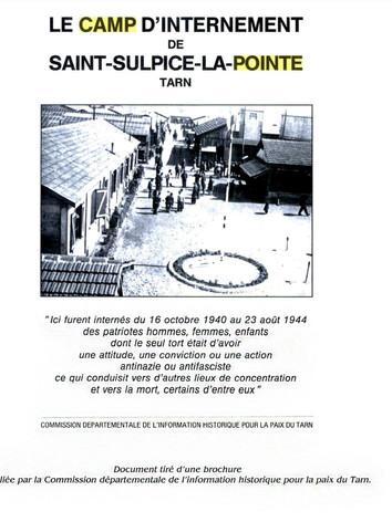 Source : Commission départementale de l'information historique pour la paix du Tarn