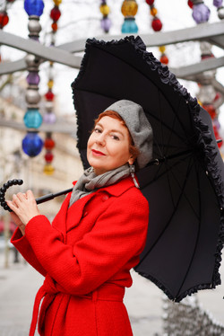 Mary Poppins - le rouge est mis !