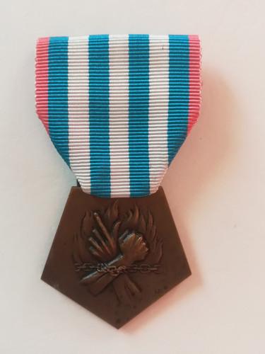 Médaille de la Déportation et de l'Internement pour faits de Résistance, attribuée à Alfred Sabatier à titre posthume