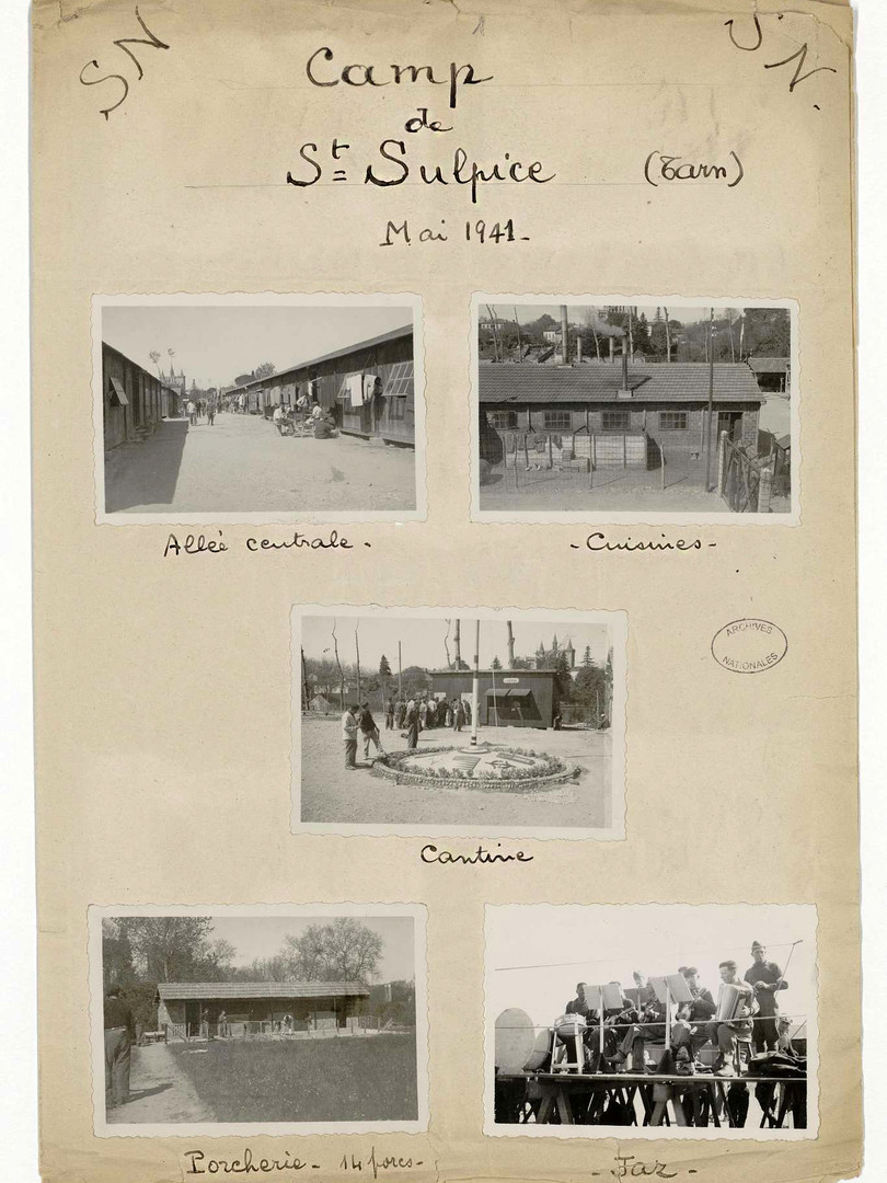 Source : Archives Nationales - Cotes : F/7/15108, dossier 1b, album 1- Mai 1941