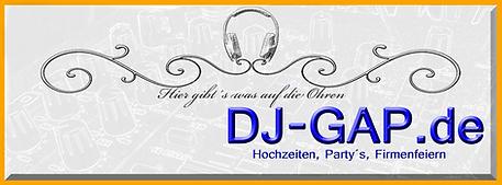DJ-GAP.de ihr Partner für Hochzeiten und Firmenfeiern
