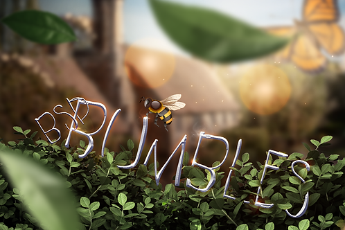 BSD Bumbles Font