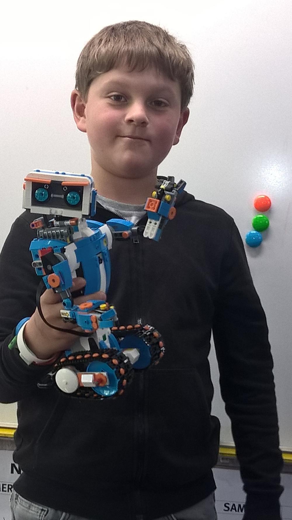 Echange : Comment s'orienter dans l'espace avec un robot