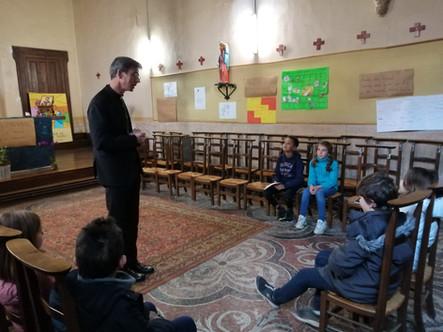 Visite de Monseigneur Bozo
