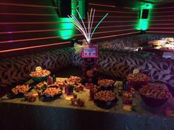 80's Theme Dessert Table