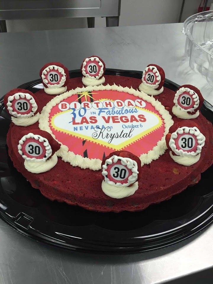 30the Birthday Cake