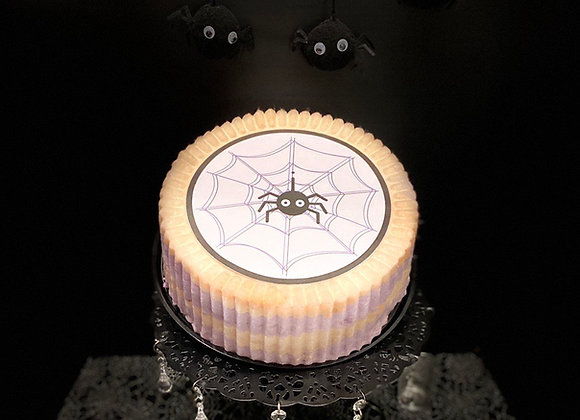Halloween Cotton Candy Cake!