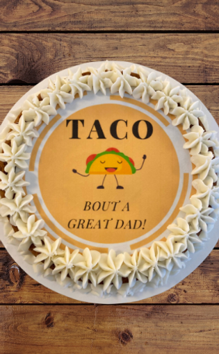 Giant Cookie For DAD!