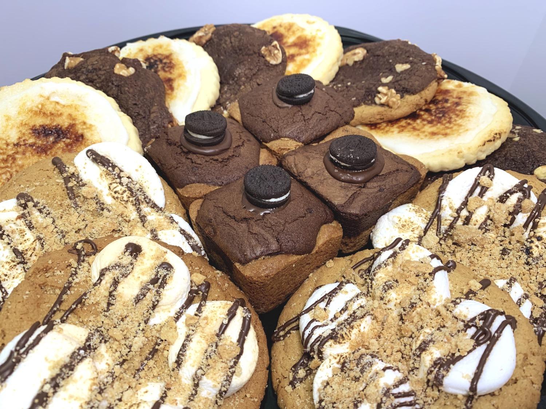 Brownies Cookies Creme Brûlée