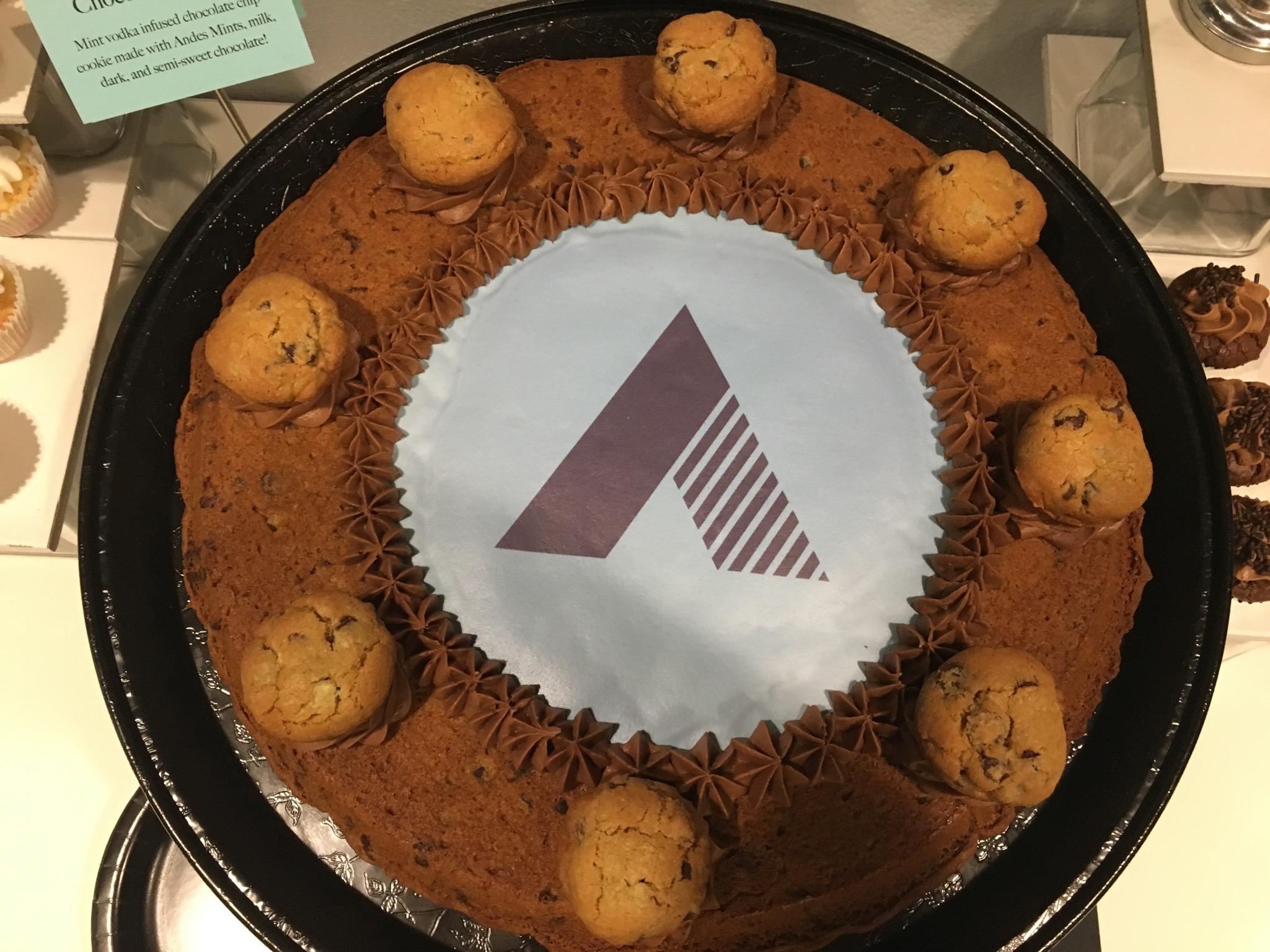 Chocolate Mojito Cake
