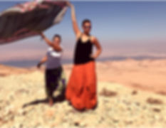 School of Self Awareness students at the Dead Sea