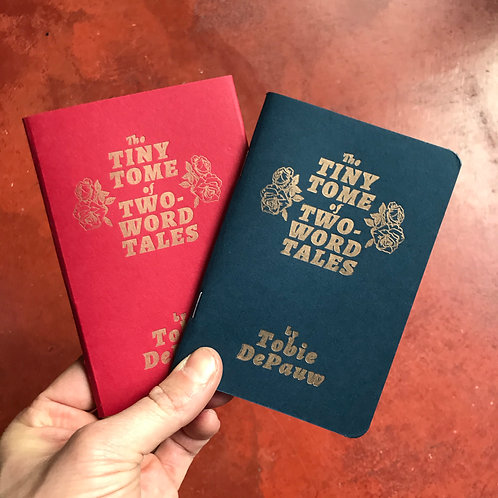 The Tiny Tome of Two-Word Tales