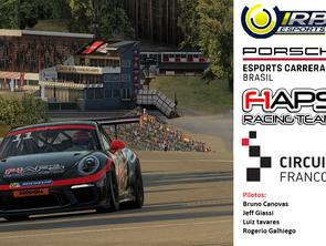 F1APS Racing Team na Porsche eSports Carrera Cup