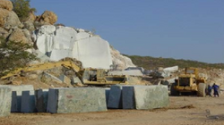 Quarry in Namibia