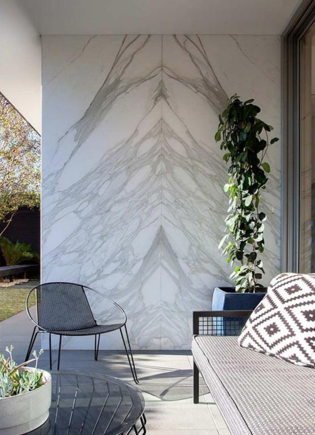 Outdoor Wall Feature
