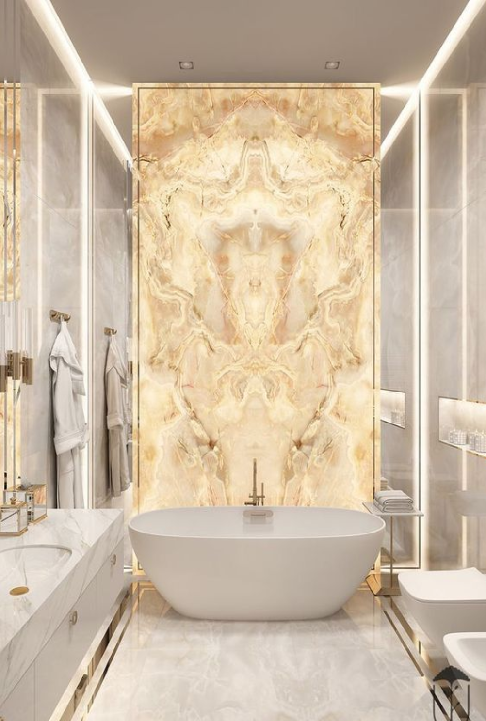 Onyx Bathroom Accent