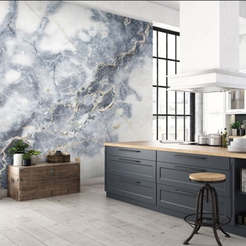 Marble Accent Wall