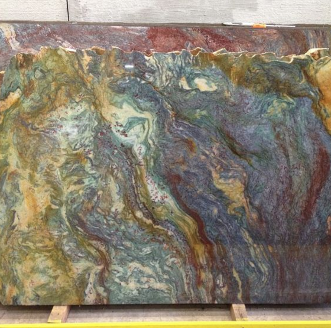 Blue Louise Granite Slab