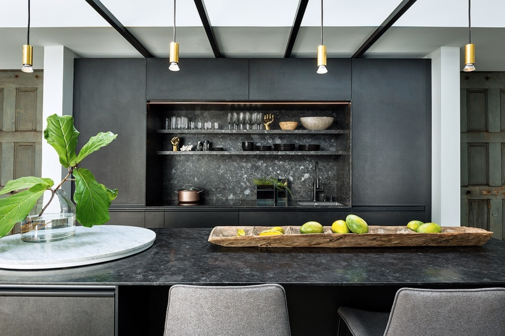 Saint Henry Black Granite