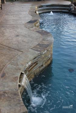 Stone Pool Surround