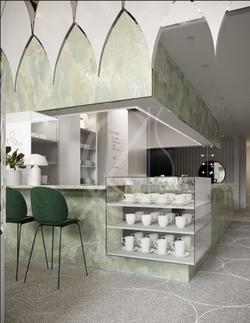 Cisne Lounge Cafe Design