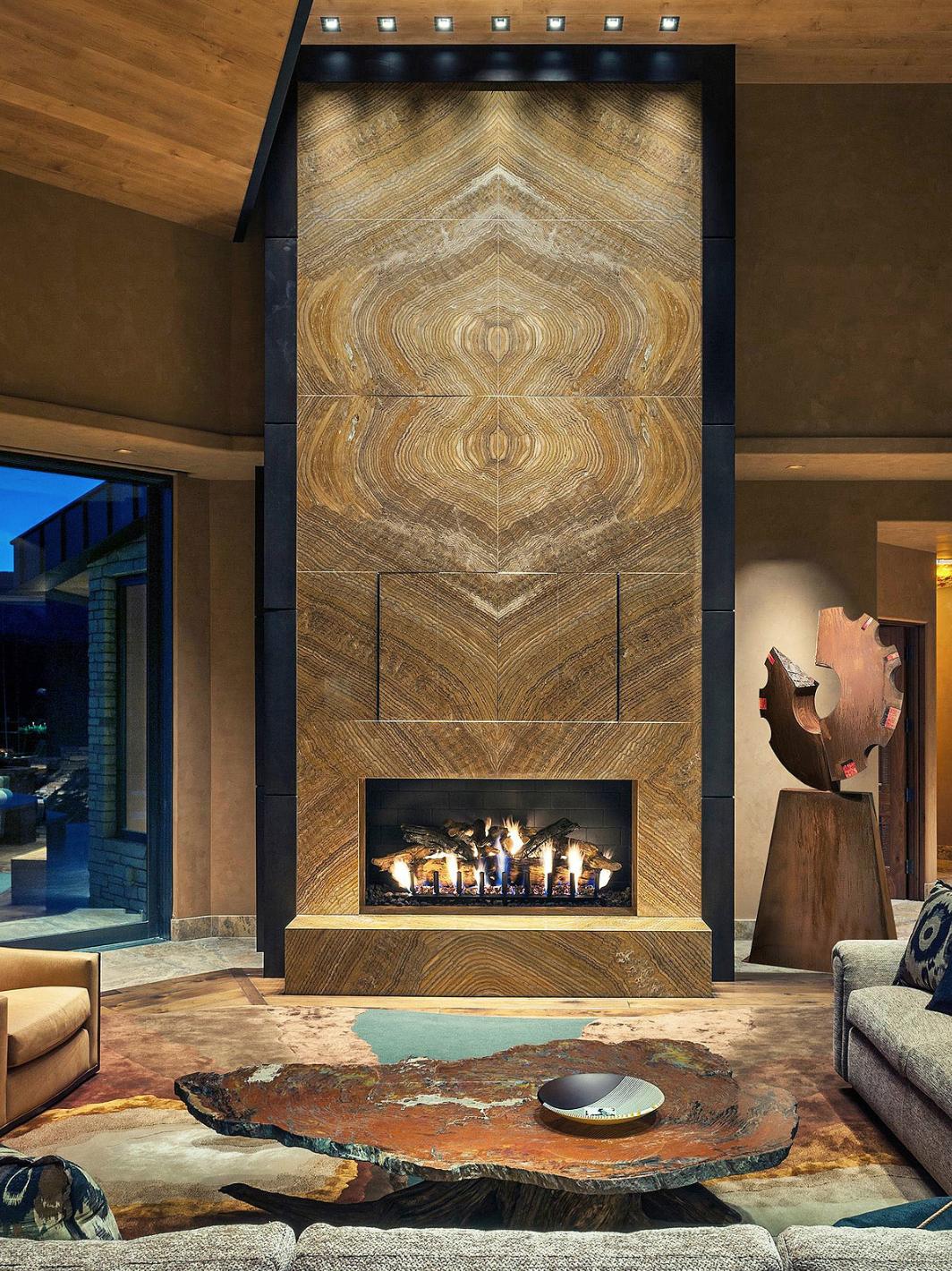 Onyx Fireplace