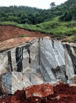 Black storm granite - Brazil