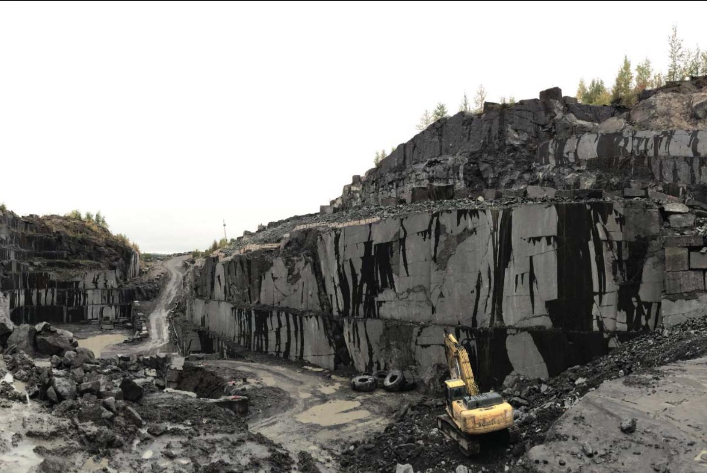 Cambrian Black Granite Quarry