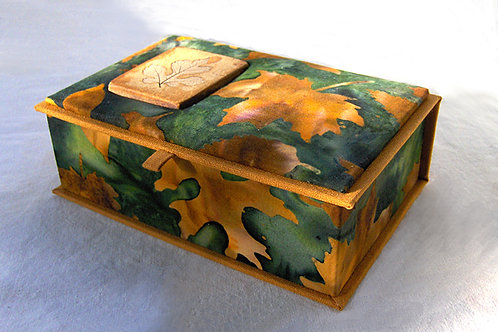 Fabric Covered Small Box