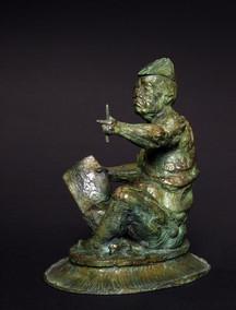 Michel-Levy-sculpteur-geometre-standard-
