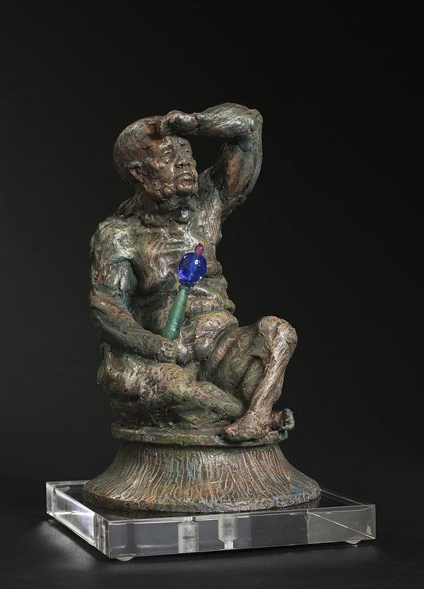 Michel-Levy-sculpteur-guetteur-standard-