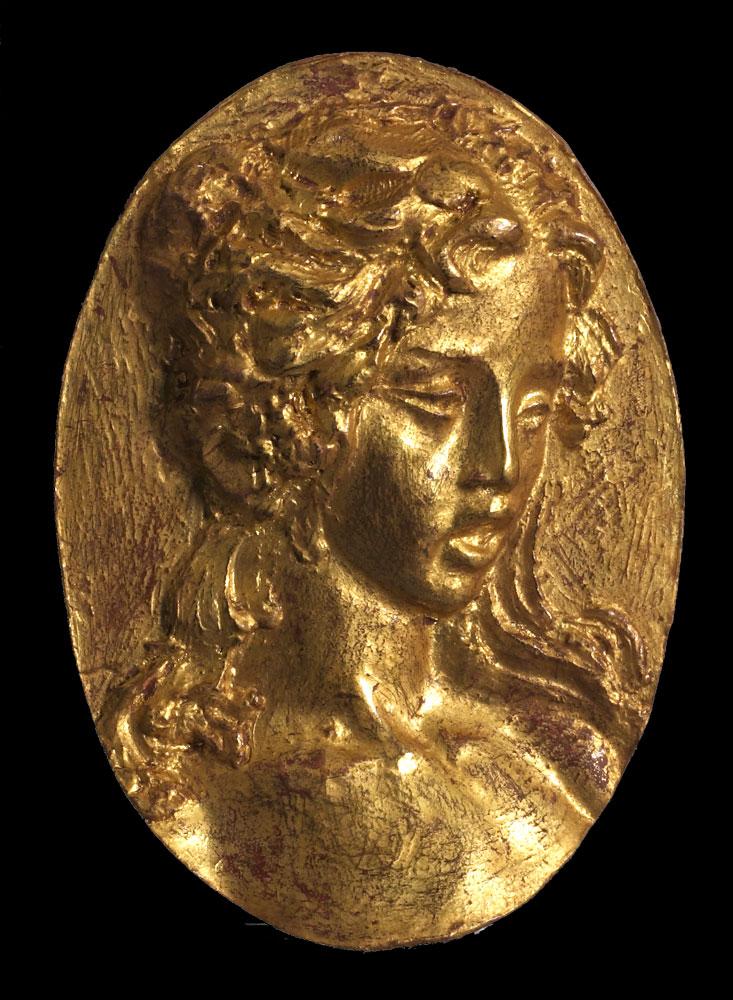 Médaillon femme
