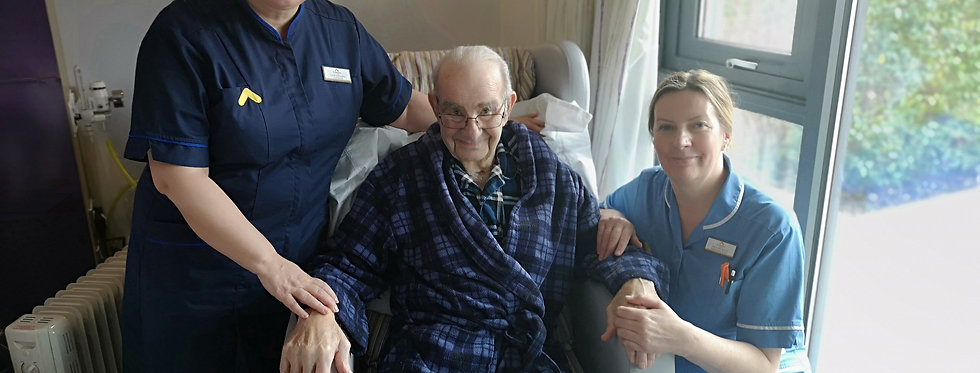 An hour's nursing care for one of our adult inpatients
