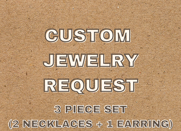 Custom 3 Piece Set