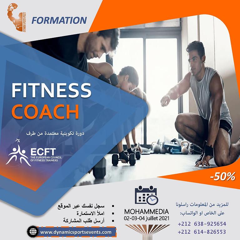 دورة مدرب لياقة بدنية ECFT - FITNESS COACH