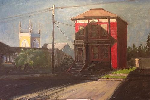 Red Italianate, Sunrise Astoria