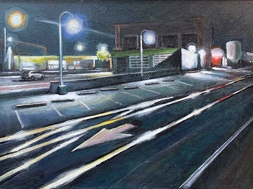 Lights on the Trolley Line