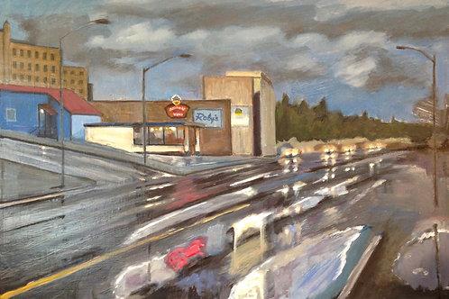 Break in the Rain, Astoria