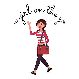 A Girl On The Go - Curved Logo White LC.png