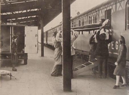 En marge du TGV médicalisé, les trains d'assistance SIPEG (1943)