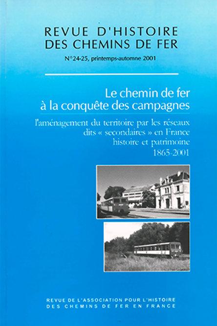 RHCF N°24-25 : Le chemin de fer à la conquête des campagnes