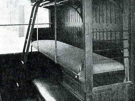 1922, l'État innove : les couchettes 3e classe de M. Le Trocquer