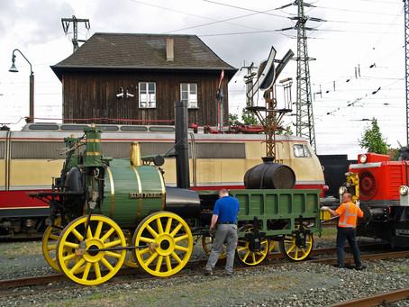 Une expo pour les 175 ans des chemins de fer allemands