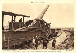 Pièce de 320 millimètres - Grande Guerre