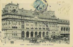 Gare Saint-Lazare, 1904.