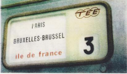 Appel à témoignages : Trans-Europ-Express (T.E.E) de l'axe Paris – Bruxelles – Amsterdam
