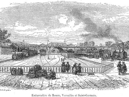 Le patrimoine iconographique ferroviaire de la ligne de Paris à Saint-Germain (1837 – 1855)