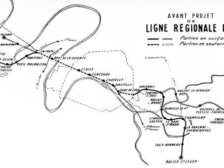Du Métro régional au Réseau Express Régional