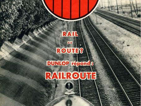 1932. Les essais de l'automobile         « Railroute » Dunlop