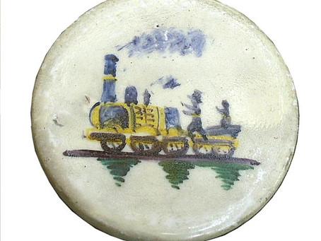 Les faïences fines comme illustration des premiers chemins de fer en France